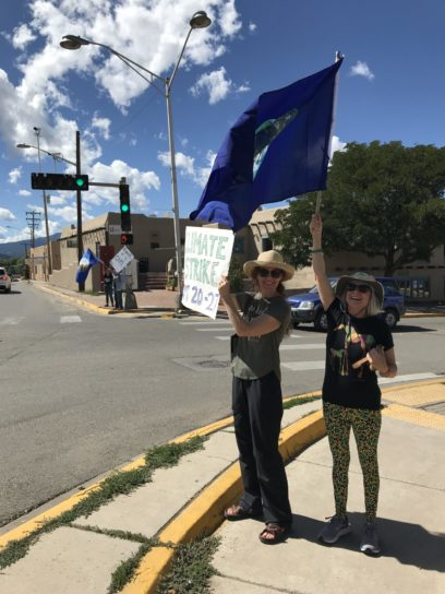 2019 Climate Strike Taos, NM